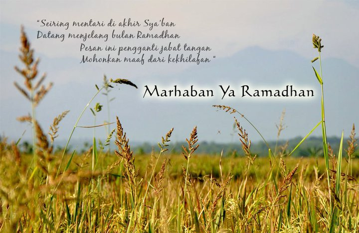 Sambut Ramadhan 1