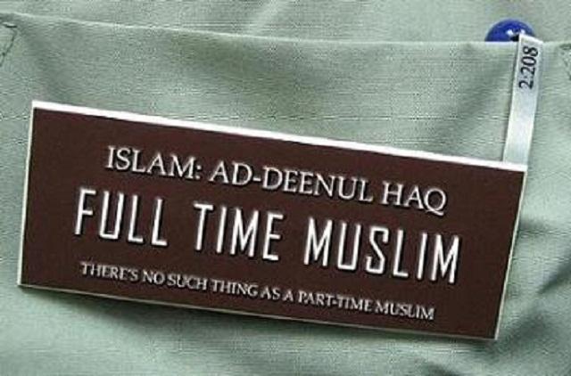 full time muslim